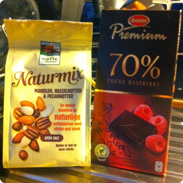 Chocolate chip cookies - Choklad och nötter