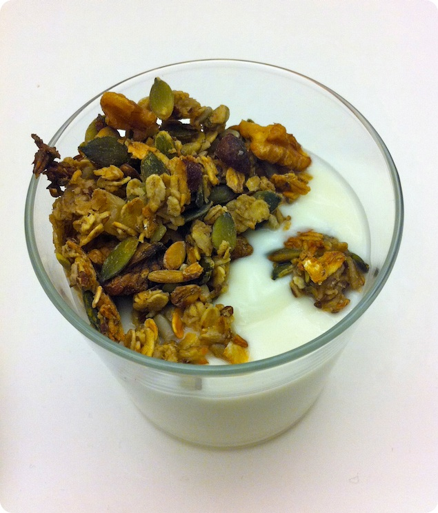 Müsli med yoghurt