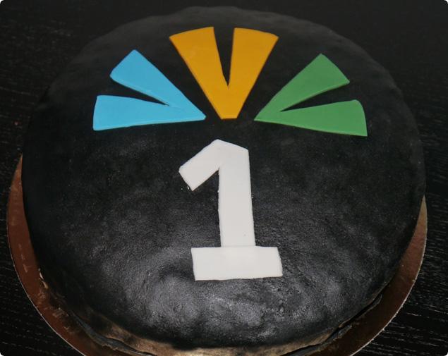 Tårta 1 år