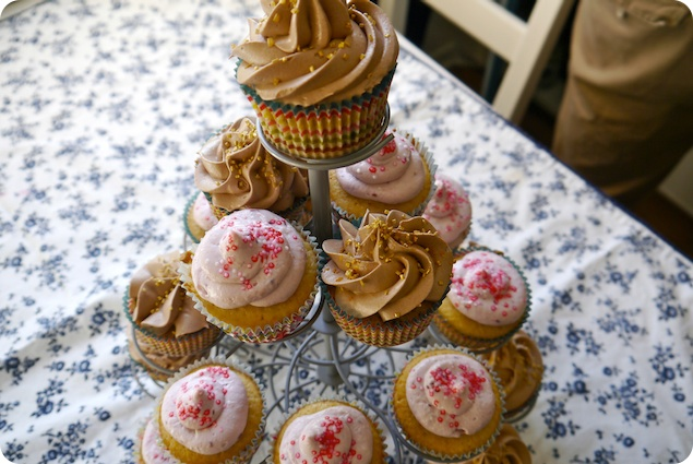 Cupcaketräd