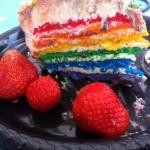 Rainbow cake med Buddha - 6