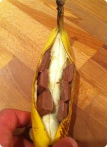 Hajkbanan - Fyll med choklad