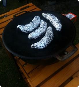 Hajkbanan - Grilla eller stek din banan
