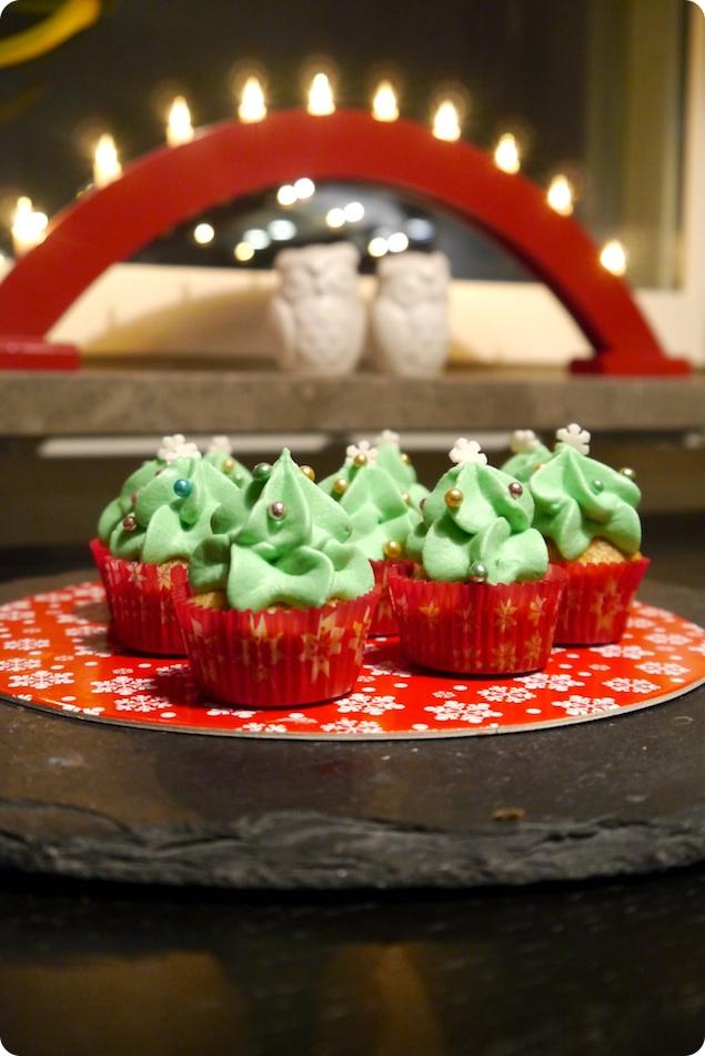 Pepparkakscupcakes - 2