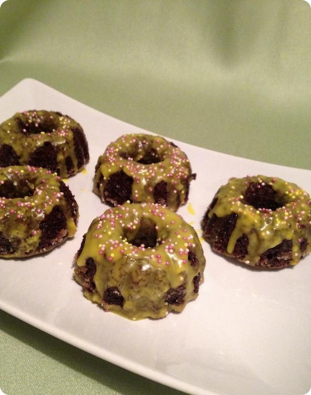 Mini sockerkakor med choklad och citron - 1