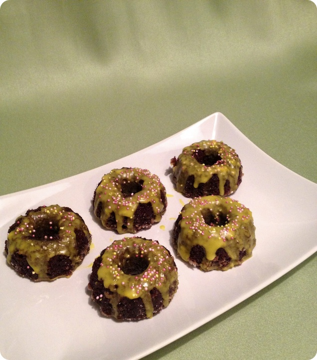 Mini sockerkakor med choklad och citron - 2