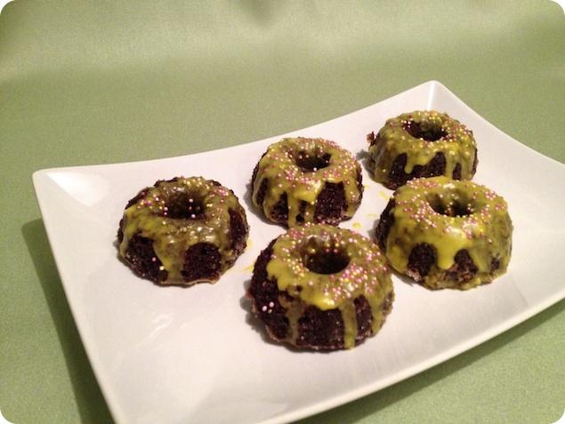 Mini sockerkakor med choklad och citron - 3
