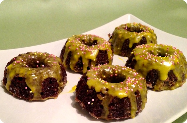 Mini sockerkakor med choklad och citron - 4