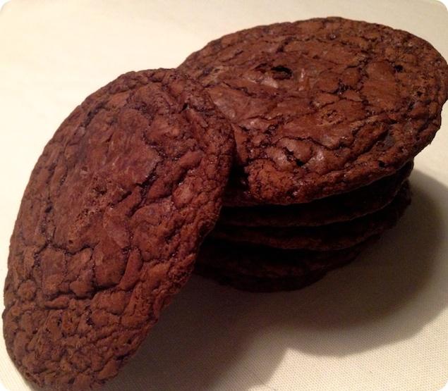 Kladdkakecookies