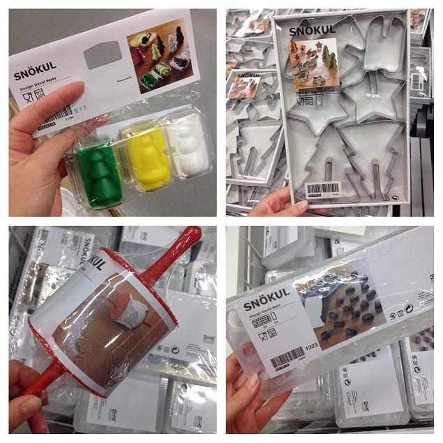 Bakprylar på IKEA
