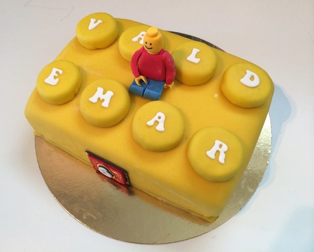 Legotårta