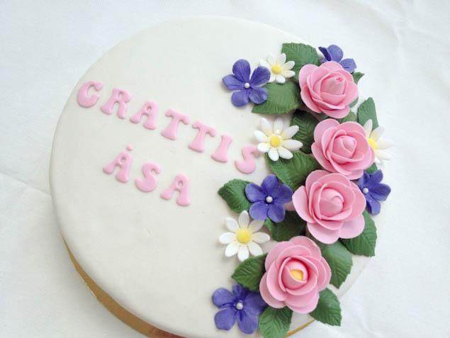 Sommartårta till Åsa