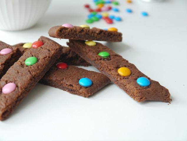 Chokladsnittar med non stop